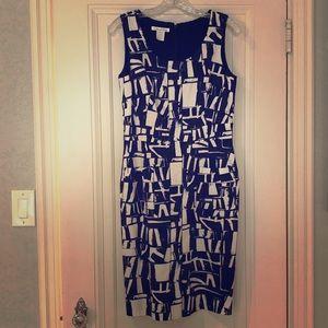 Oscar de la Renta Daytime Sleeveless Dress